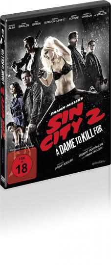 Sin City 2. DVD