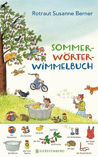 Sommer-Wörter-Wimmelbuch.