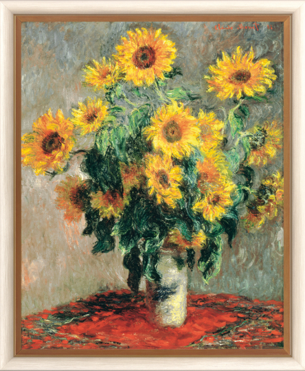 Sonnenblumen. Claude Monet (1840-1926).