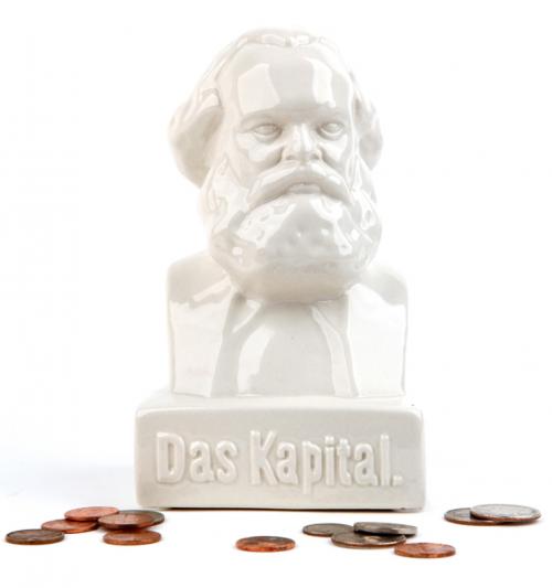 Spardose »Das Kapital«.