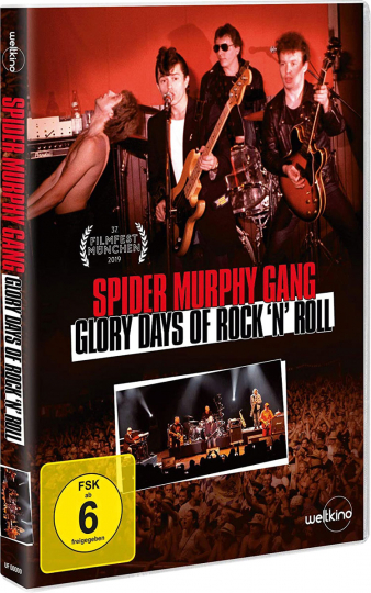 Spider Murphy Gang - Glory Days of Rock »n« Roll. DVD