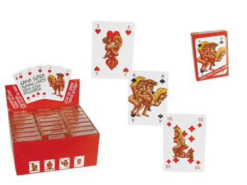 Spielkarten Kamasutra Comic