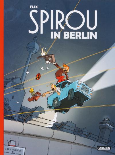 Spirou in Berlin.