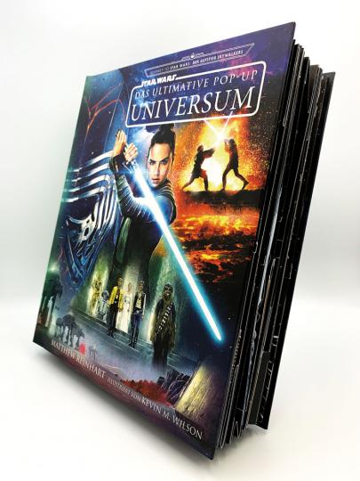 Star Wars. Das ultimative Pop-Up Universum. Journey to Star Wars: Der Aufstieg Skywalkers.