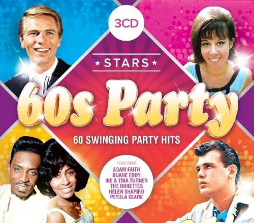 Stars of 60s Party 3 CDs