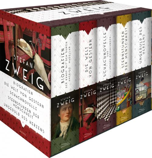 Stefan Zweig. Die großen Werke. 5 Bände.