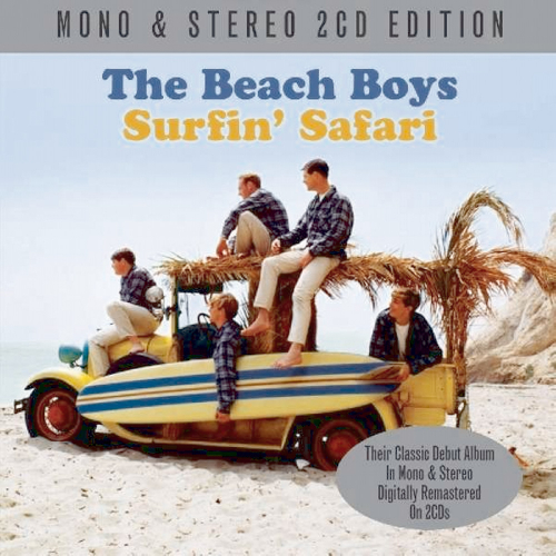 The Beach Boys. Surfin' Safari. 2 CDs.