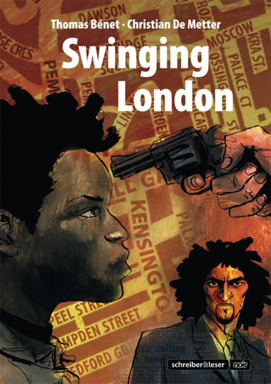 Swinging London. Dead End Street. Graphic Novel.