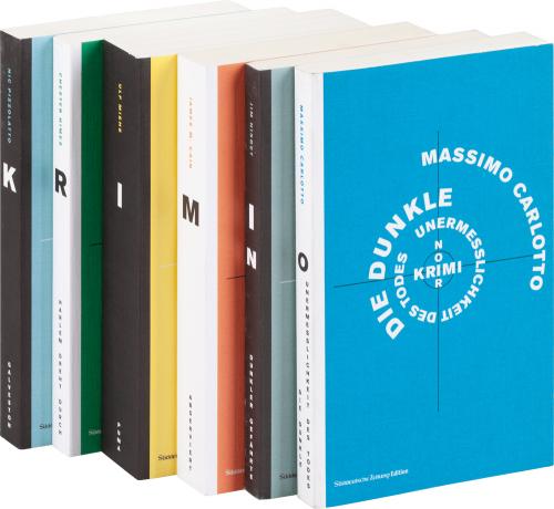 SZ Krimi Noir Bibliothek. 6 Bände.