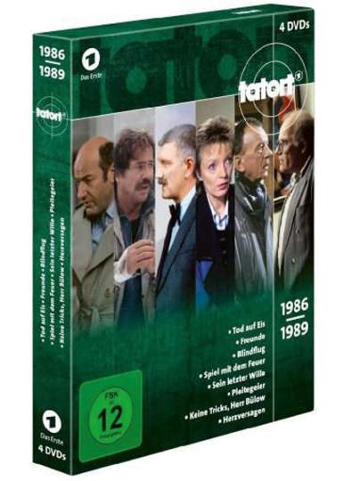 Tatort Klassiker - Die 80er (Box 2). 4 DVDs.