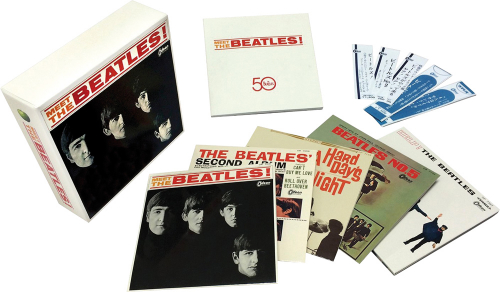 The Beatles. Meet The Beatles (Limited Edition Japan Box). 5 CDs.
