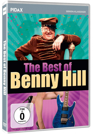 The Best of Benny Hill. DVD.