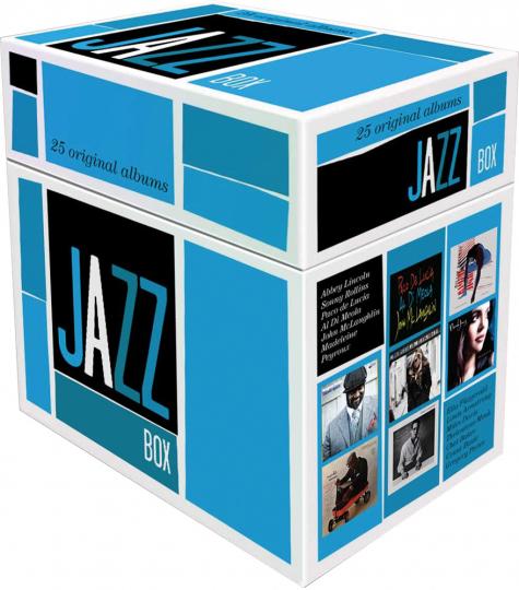 Jazz Box. 25 Original-Alben. 25 CDs.