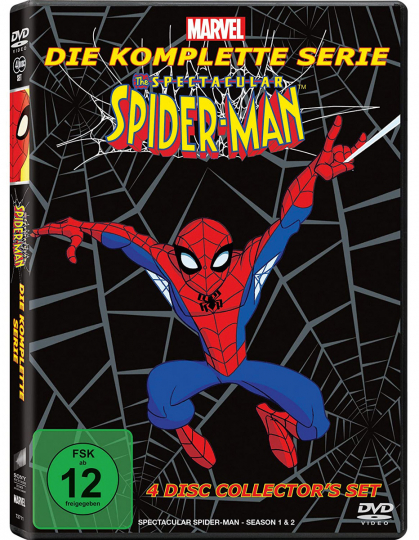The Spectacular Spider-Man (Komplette Serie). 4 DVds