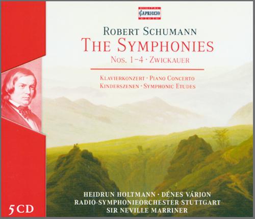 The Symphonies Nos. 1-4 Zwickauer  5 CDs