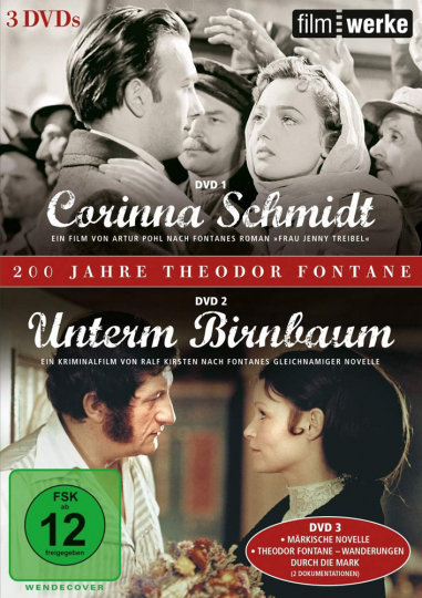 Theodor Fontane: Corinna Schmidt / Unterm Birnbaum. 3 DVDs.