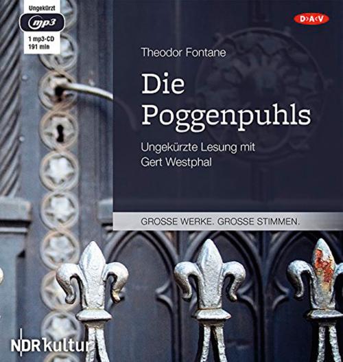 Theodor Fontane. Die Poggenpuhls. mp3-CD.