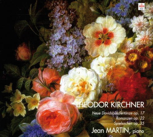Theodor Kirchner. Neue Davidsbündlertänze op. 17. CD.