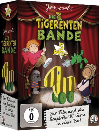 Tigerentenbande Sammelbox. 5 DVDs.