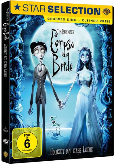 Tim Burton's Corpse Bride - Hochzeit mit einer Leiche. DVD.