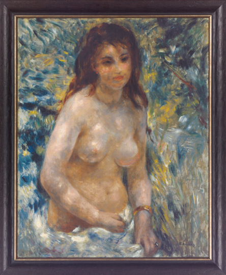 Torse de femme. Auguste Renoir (1841-1919).