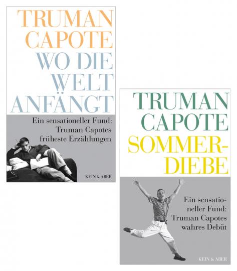 Truman Capote. Frühe Werke. 2 Bände im Set.