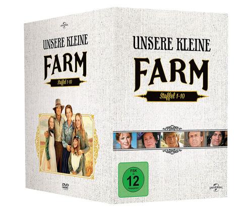 Unsere kleine Farm (Komplette Serie). 58 DVDs.
