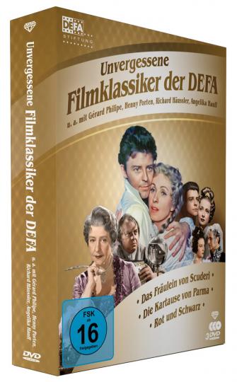 Unvergessene Filmklassiker der DEFA. 3 DVDs.