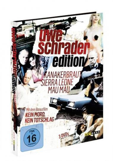 Uwe Schrader Edition. 3 DVDs.