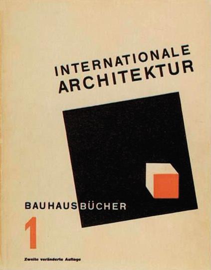 Walter Gropius. Internationale Architektur.