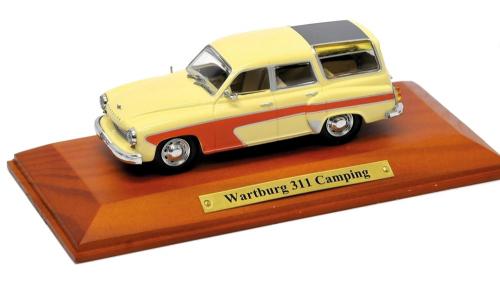 Wartburg 311 Camping - Modell 1:43.