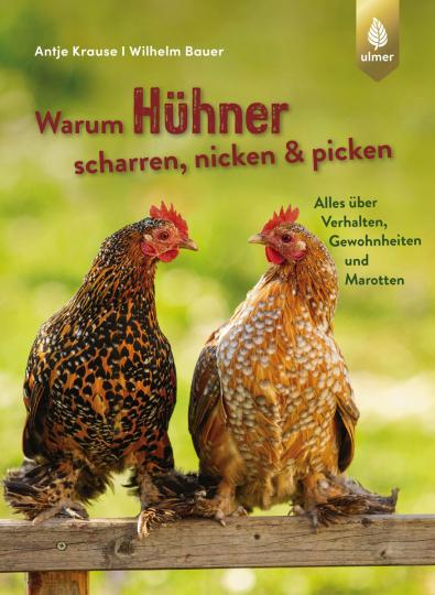 Warum Hühner scharren, nicken und picken. Alles über Verhalten, Gewohnheiten und Marotten.