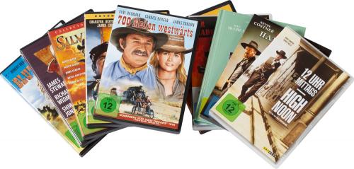 Western-Box. 11 DVDs.