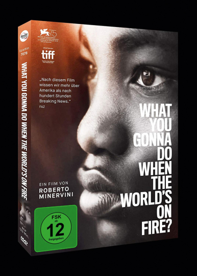 What You Gonna Do When the World's on Fire? (OmU). DVD.