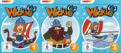 Wickie und die starken Männer. 3 DVDs.