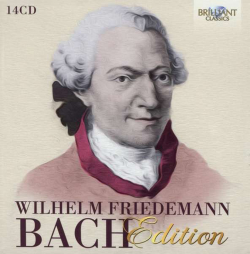 Wilhelm Friedemann Bach Edition. 14 CDs.
