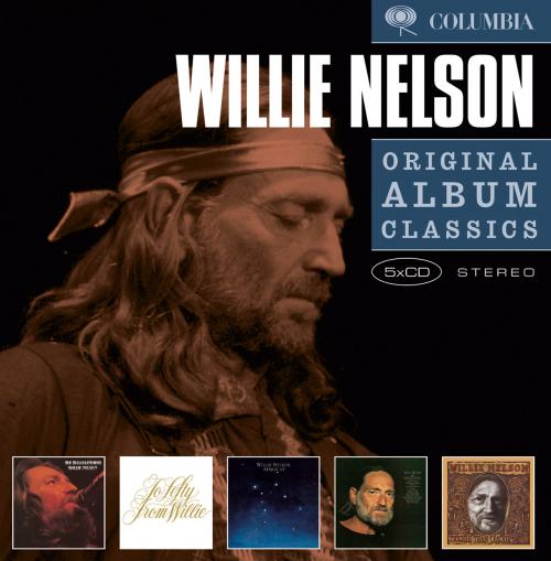 Willie Nelson. Original Album Classics. 5 CDs.