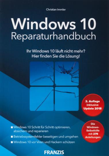 Windows 10 Reparaturhandbuch.