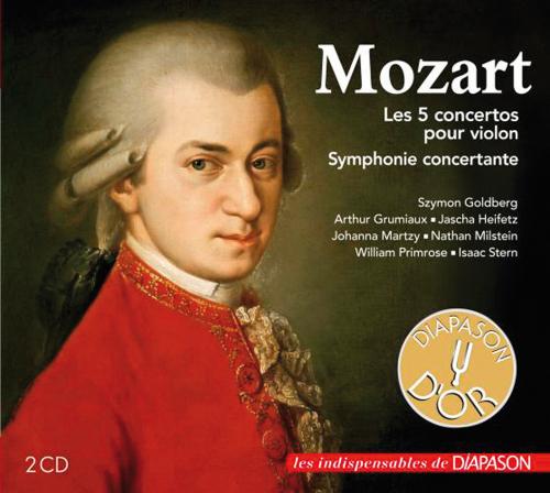Wolfgang Amadeus Mozart. Violinkonzerte Nr. 1-5.