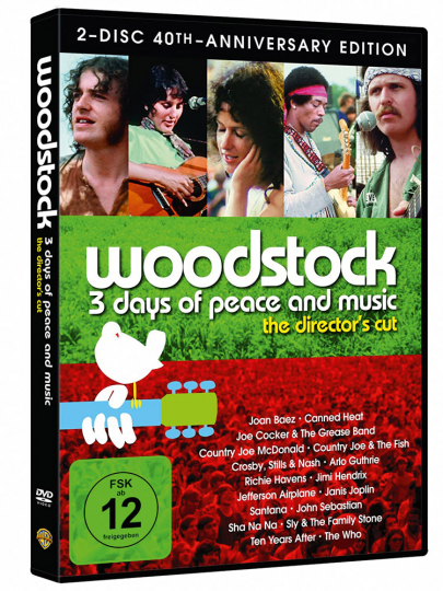 Woodstock (Director's Cut) (Special Edition). 2 DVDs.