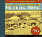 Dim Lights, Thick Smoke & Hillbilly Music 1945. CD. Bild 1