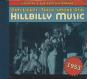 Dim Lights, Thick Smoke & Hillbilly Music 1953. CD. Bild 1