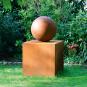 Gartenskulptur »Goethes Stein des guten Glücks«. Bild 1