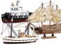 Holzbausatz Schiffe 3er-Set. Bild 1