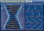 Poster - Das Astronomische Jahr 2014 gerollt. Alles für die Beobachtung des Sternhimmels auf einen Blick Bild 1