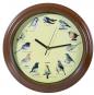 Wanduhr mit Vogelstimmen. Bild 1