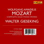 Walter Gieseking. Mozart Solo Recordings. 8 CDs. Bild 2