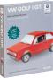 VW Golf GTI. Buch und Kartonbausatz. Detailgetreues Steckmodell aus Karton. Bild 3