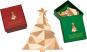Tannenbaum-Puzzle mit Grußbotschaft, rot. Bild 5