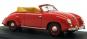 VW Käfer Cabrio im Maßstab 1 : 43 rotes Modell, Dannenhauer & Stauss 1951 Bild 5